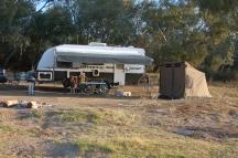 Campsite on Cooper's Creek
