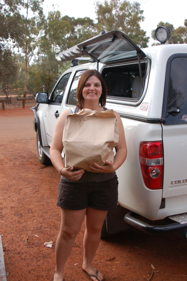 Groceries in the Outback