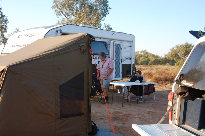 OzTent near Cordillo Downs