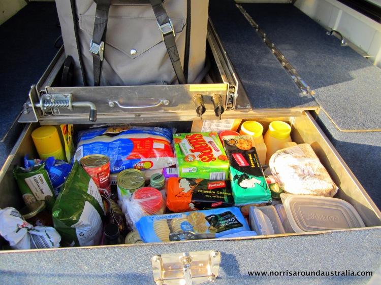 Food Drawer Stocked!!